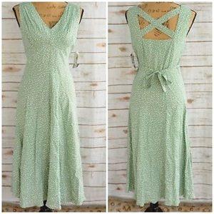 Vintage Sheri Martin Polka Dot Dress